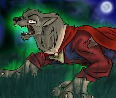 werewolf transformation by crewwolf