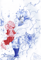 WIP Ch. 411 - Scratch my back and.. (BallPointPen) by passion00
