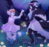 Forest Dance - Commission by strawberryneko33