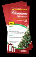 Christmas luncheon invitation by owdesigns