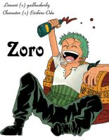 Zoro by gailhuckerby