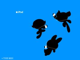 Powerpuff Girls iPod ad by TheMin
