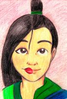 The two faces of Mulan by appleshiner