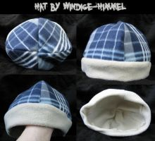 Plaid hat with scarf 15$ by SPPlushies