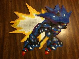 Metal Sonic Bead Sprite by nayrb00
