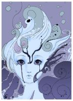 .::Child of the sea::. by leavesinthewind