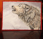 Wolf Card by Sidonie