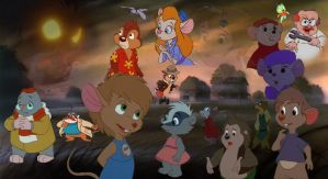 Abigail and the Rats of NIMH by CyberDuke