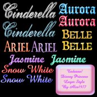 Disney Princess Styles - Ps by Alce1977