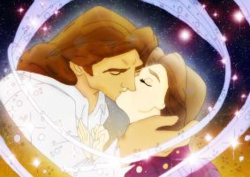 Adam and Belle by AppleLily