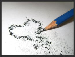 Graphite heart...o.O by K1re1