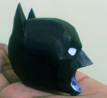 Batman The Dark Knight Papercraft Progress by suraj281191