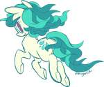 Commission - Dew Droplet by ponywise