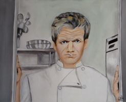 Gordon Ramsey by WendyMitchell