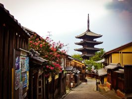 Old Kyoto by Ajumska