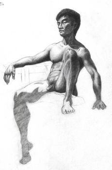 Life Drawing by Nrzman