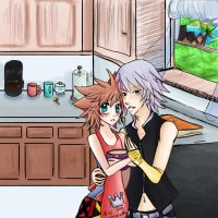 Soriku: Kitchen Time by TouchMySitar