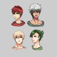 My Fairy Tail Boys^^ by Bluewatershooter