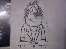 Hugo Project - Reita sketch by Inquanok