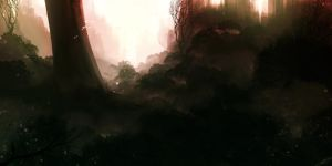 Forest Speed Paint by Effett