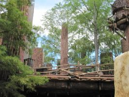 WDW Star Tours Endor 04 by d1znee