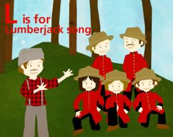 L is for Lumberjack Song by whosname