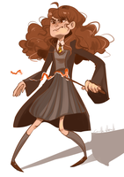 Hermione : facial expression request by Corelle-Vairel