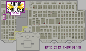 Hang with the AudioShocker at NYCC 2012! by nickmarino