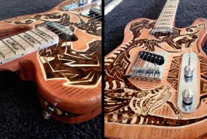 Coyote Telecaster Details by Tsairi