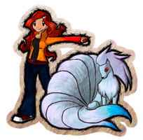 A Ninetales for Sairen by ciscogabriel