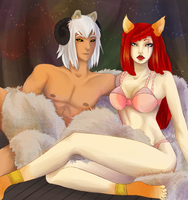 VolSa Pinup Entry -Those Cold Lumerian Nights- by Rem-embrance