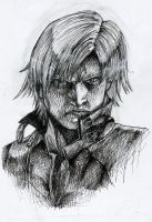 Dante DMC2 in Pen by TheLovelessNeko