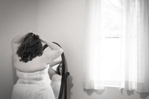 Kathleen on her wedding day .:1 by courey
