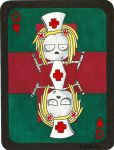 Ouchie Boo Boo The Queen of Hearts by 12jack12