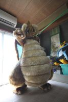 Dragonite fursuit var2 by ensiryu
