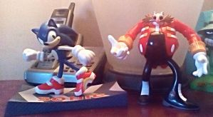 Rare Sonic Adventure 2 Figures by SquirrelCat1998V2