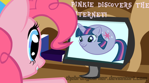 Pinkie discovers the Internet! by TheBronyCorner
