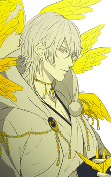Tsurumaru by Captain-Toki