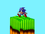 Classic Sonic Voxel by GoTyCuS