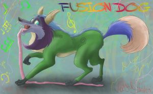 FUSION DOG by Valtriss