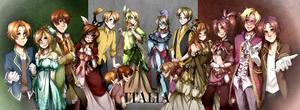 Hetalia - Thanks for the 900+ followers!~ by Mioko-san