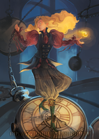 Alice Through The Looking Glass by rosy-Clockomaton