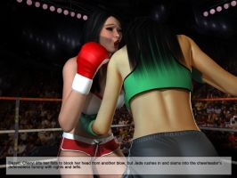 Jade Fist vs. Bouncin' Bombshell, Image 14 by cpunch
