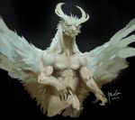 Four horned angel by Pacelic
