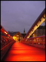 Footbridge. by estachos