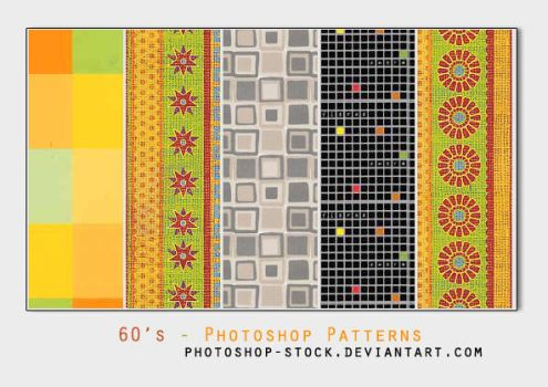 60's - Photoshop Patterns by photoshop-stock