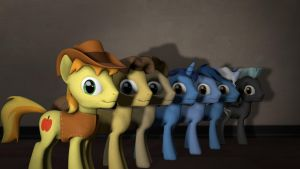 Male Pony Pack For SFM by BlackArmsGeneral