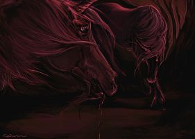Tomorrow's Bloodstained Ground by howlinghorse