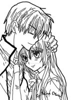 Haine's biological parents by LadyLacus18