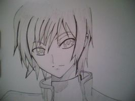 Lelouch Sketch by Tails212